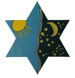 Star of David in The Israeli Art Genesis-2